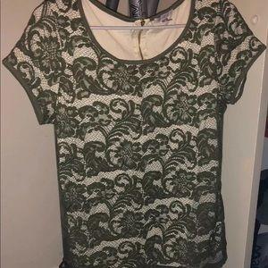 Women's lace shirt